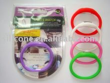 ION/Anion Silicone Promotional Sports Digital Wristband Watch