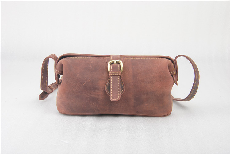 Hottest vintage leather shoulder bag for men