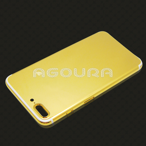 New gold/rose gold/platinum back cover for iPhone 7plus mirror gold housing