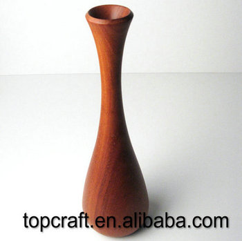 Traditional Turned Wood Vase Buy Traditional Turned Wood Vase