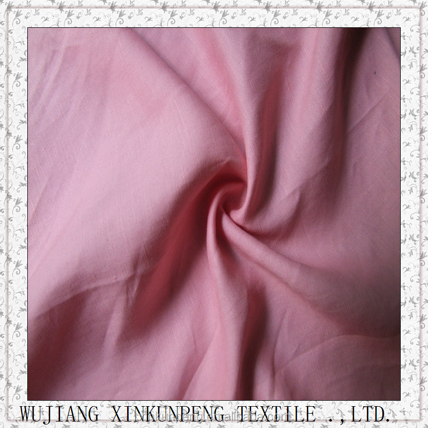 Wholesale linen and tencel blend fabric
