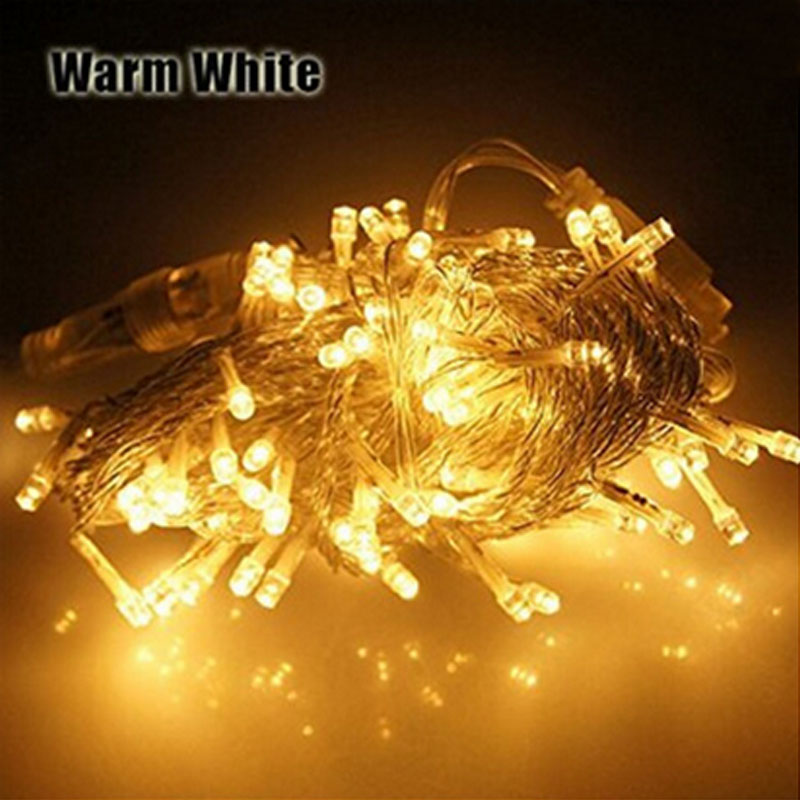 1x Free Shipping 0M 100 Leds String Light Christmas Party Wedding Fairy
