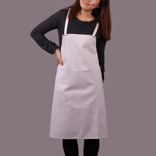 2018 Hot Sale Simple Plain White Kitchen Apron - Buy Simple White Kitchen  Apron,Hot Sale Plain Apron,Plain White Apron Product on Alibaba.com