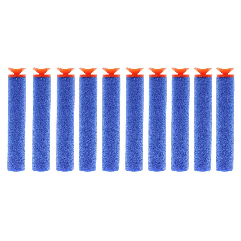 MMRM 100Pcs 7.2cm Refill Foam Darts For Nerf N-strike Elite Series Blasters Toy Gun Random Color