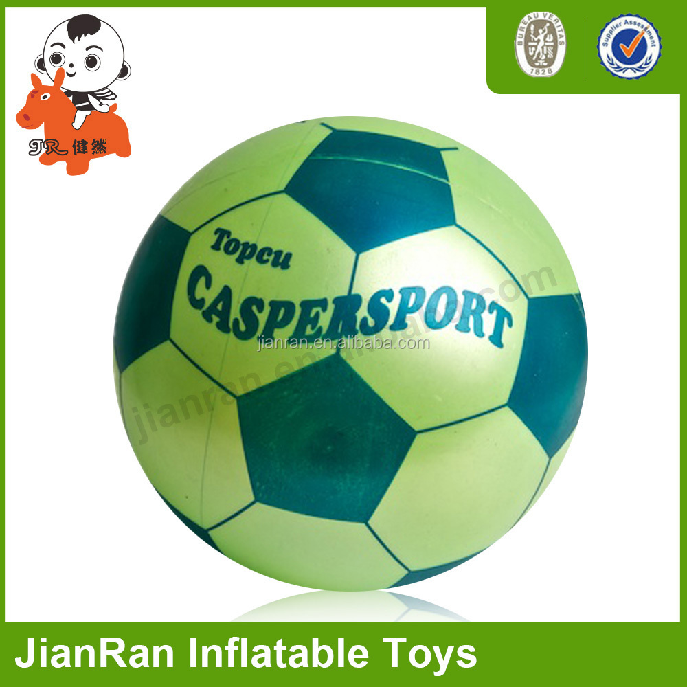 PVC inflatable toys full printing jumping ball