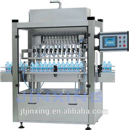 oil filling robot