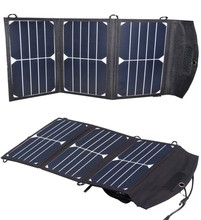 20W/5V Portable Charger Folding Solar Panel Mobile Electric Source Power