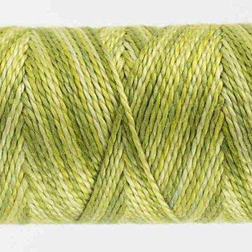 WonderFil Specialty Threads Sue Spargo Eleganza 2-ply #8 Perle Cotton solids Lazy Lizard