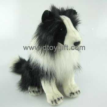 Plush Toy Dog Shetland Sheepdog