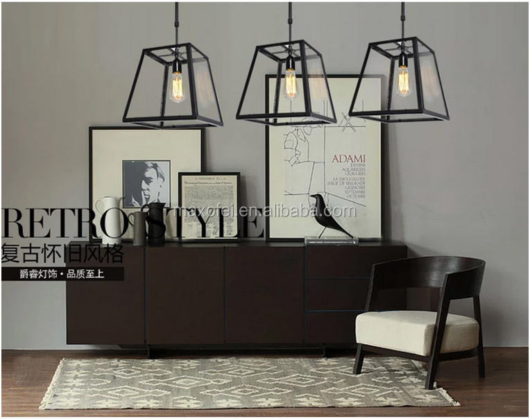 Wholesale E27 energy saving glass hanging pendant lamp shades for ...