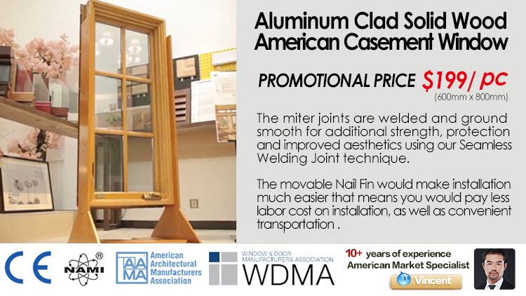 World-class cheap 3 panels casement window