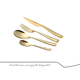 practical home decoration high quality brand stainless steel pvd gold silverware for 5 star hotel or events cutlery sets