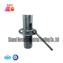 Scaffolding parts formwork accessories prop sleeve with nut and prop