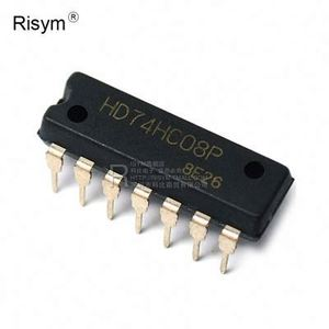 RIS3-- DIP14 74 Series New IC HD74HC08P