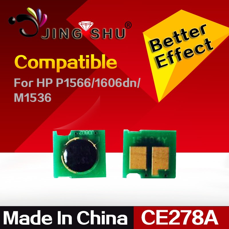 toner cartridge chip 78A for HP CE278A/P1566/1606dn/M1536/1560