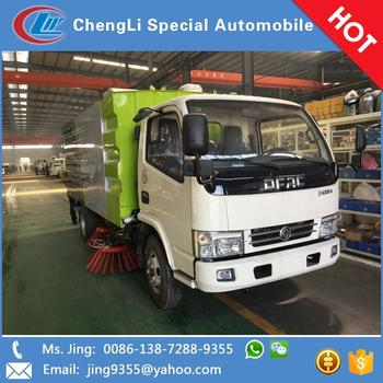 Dongfeng 4x2 Price Of Road Sweeper Truck Sweeper Street Sweeping Trucks In  Cambodia - Buy Price Of Road Sweeper Truck,Sweeper Street Sweeping