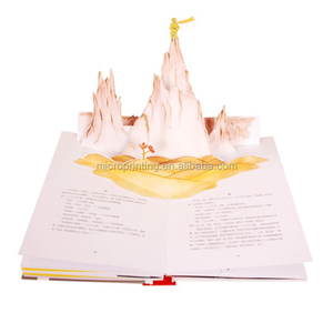 Fast Delivery Pop Up Book Full Color Perfect Bound Children Comic Book Printing House in Guangzhou