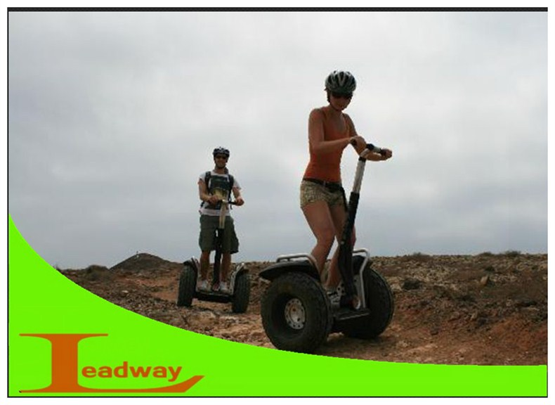 Leadway Motor power 2400W <strong>city</strong> vision scooter with remote control off road 2 seat mobility scooter ( W5L-T1024)