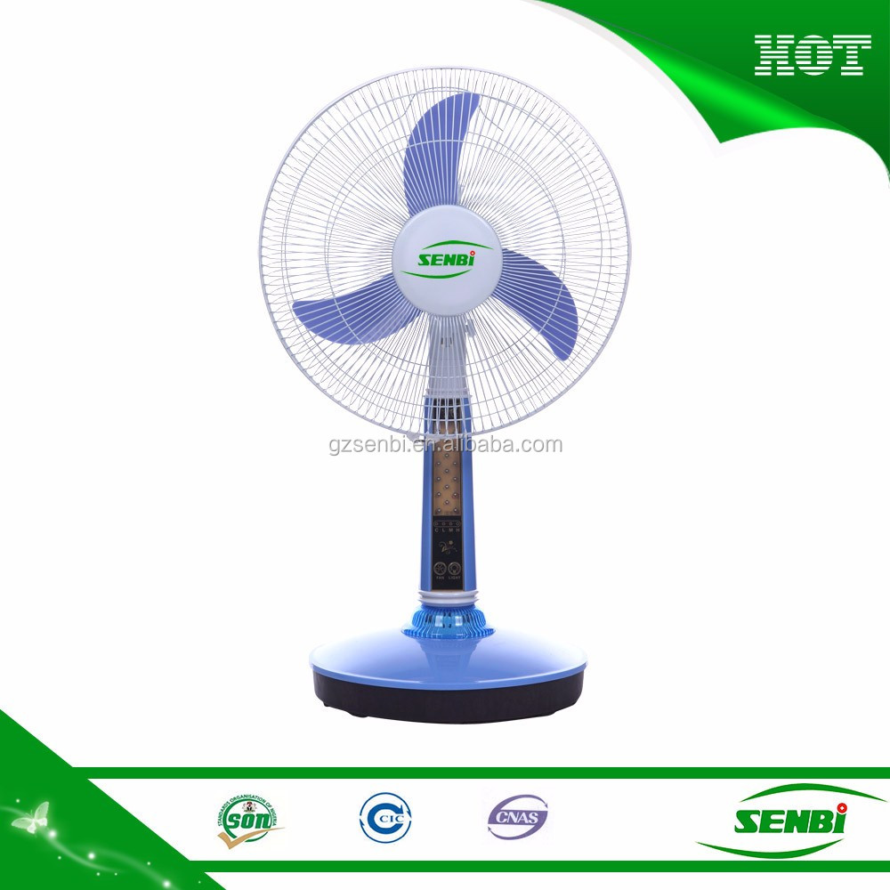 12v ac dc electric led fan light air cooling table fans for 12v dc table fan price