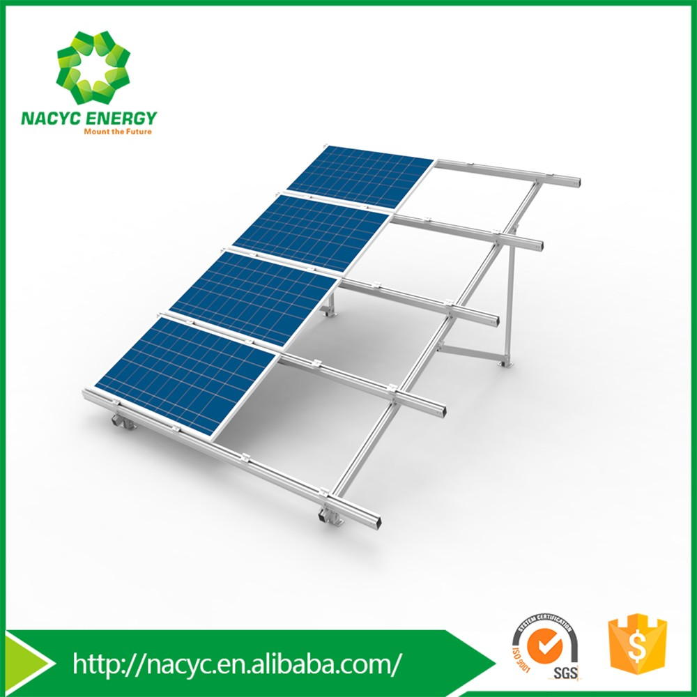 Excellent Pre Assembled Aluminmu Solar Panel Ground Mount