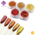 High quality organic luxury gold color series nail art chrome golden powder pigment with 5colors