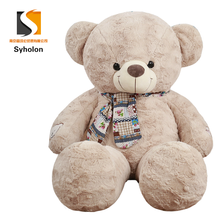 Scarf animal cute teddy bear big size plush toy