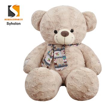 Scarf Animal Cute Teddy Bear Big Size Plush Toy