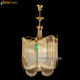 Luxury antique brass crystal chandelier cooper lighting warranty