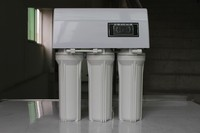5 stages plastic Ro reverse osmosis water filter purifier system WITH TDS CONTROLLER