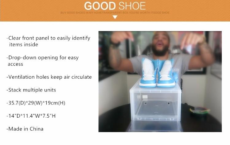 Chinese Supplier Drop Front Giant Nike Air Jordan Shoe Box