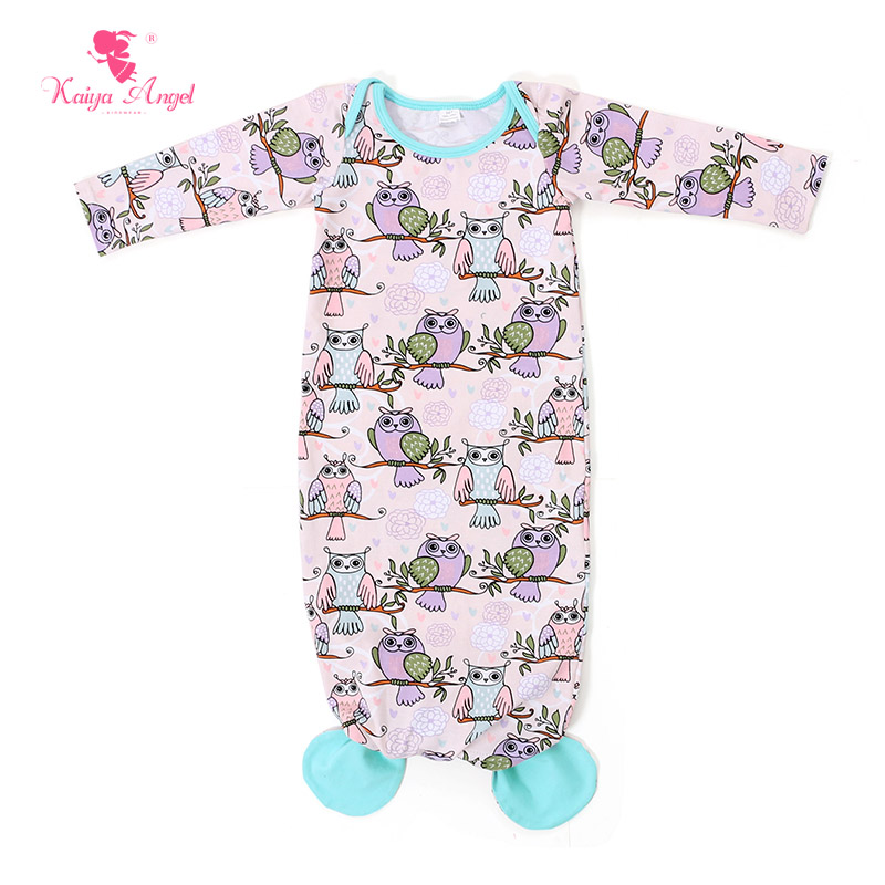 Yiwu Haohao Garments Baby Summer Nightgowns Infant Pajamas