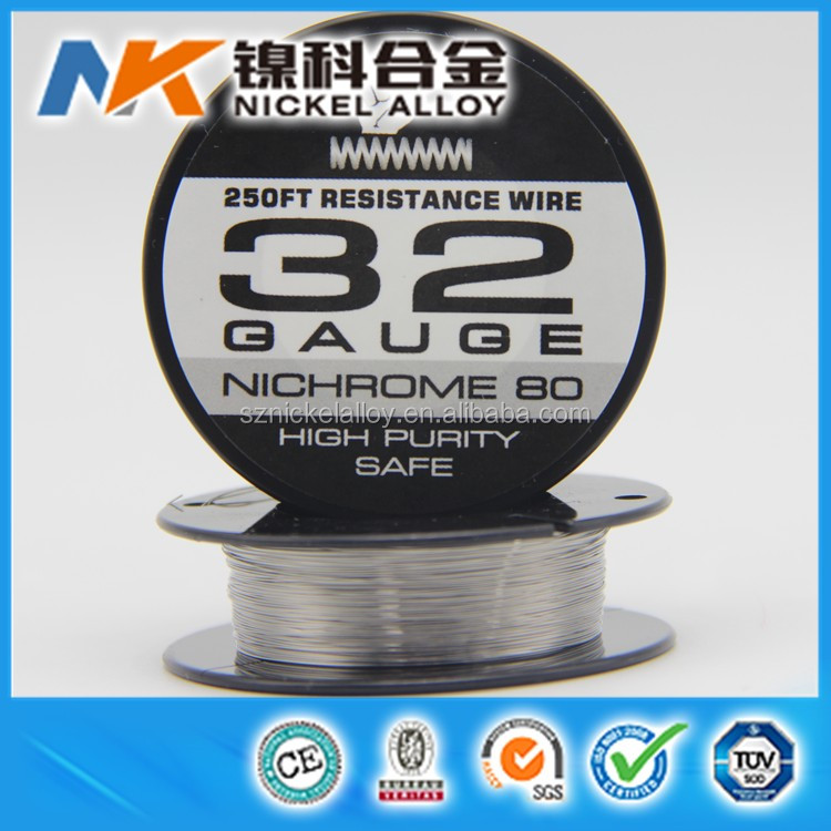 nichrome 8020 wire 20 22 24 26 28 30 32 34 36 38 gauge nicrome 32ga for ecig