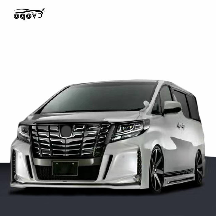 Best fitment body kit for toyota alphard body parts