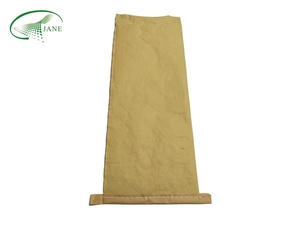 Custom high quality sack brown kraft paper cement bags