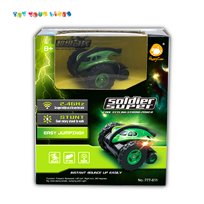 Shantou toy wholesaler kids radio control toy car rc stunt car