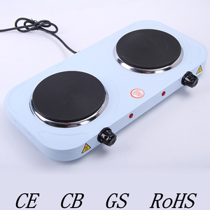 2 burner electric stove hot plate cooking electric heater