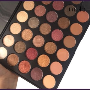 cosmetics manufacturing best selling beauty cosmetics 35 color eyeshadow palette