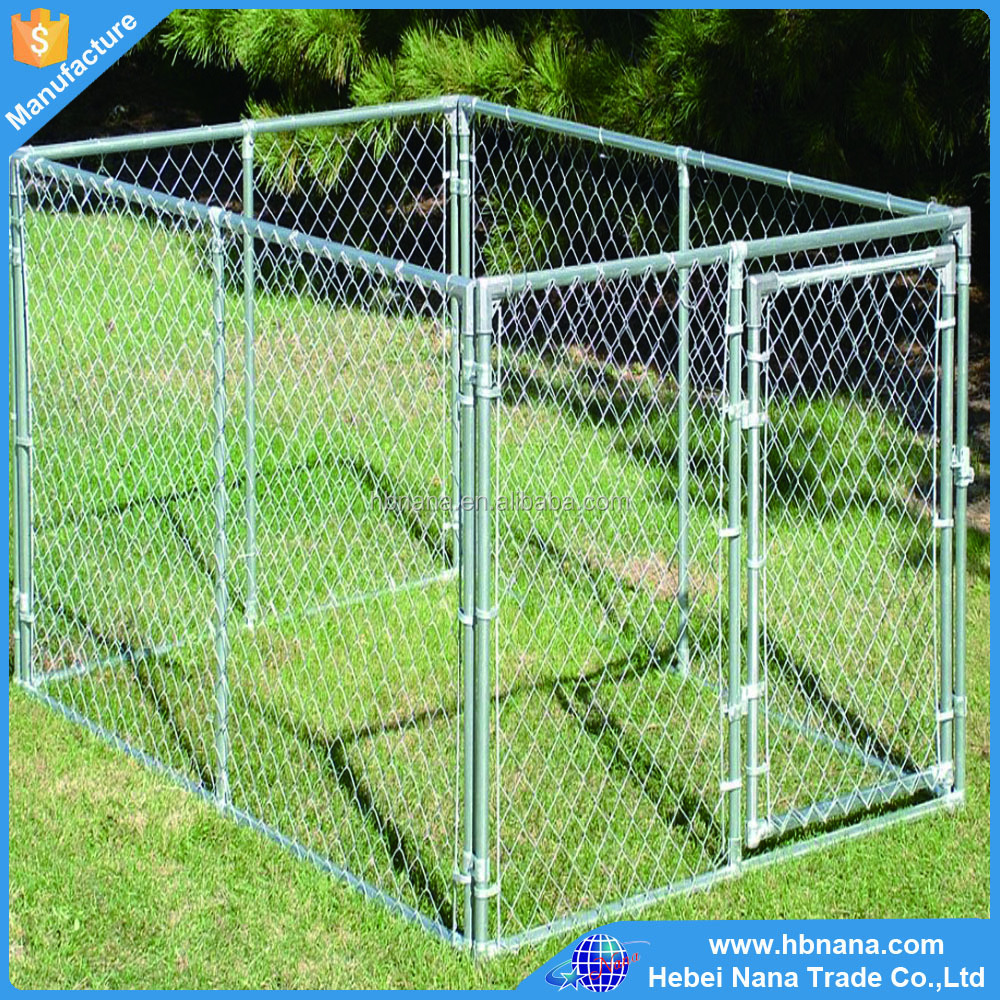 Manufacturer sell waterproof 5x10x6 foot dog kennel outdoor
