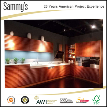 26 Years Foshan Kitchen Cabinets Manufacturer Experience Solid