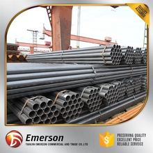 ERW steel pipe hollow section steel welded square steel tube length 6-12 meter