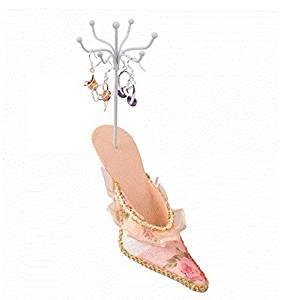 Orange Shoe Earrings Jewelry Display Rack Holder by Ozone48