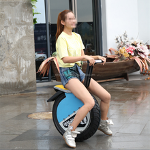 2016 New Design Single Wheel 17 Inch Hoverboard One Wheel Smart Self Balance Electric Scooter with Bluetooth and CE