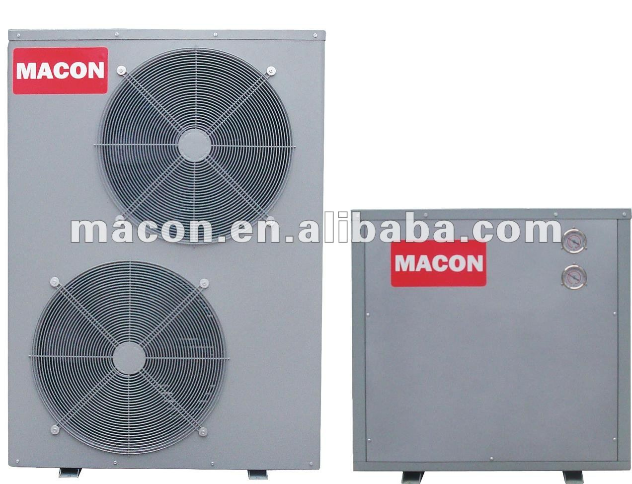 ETL CE certificate Double source multi-function heat pump,air source and ground source heat pump