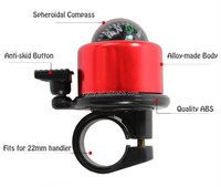Aluminum Alloy Compass bicycle Bell