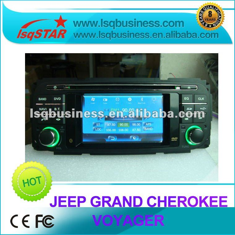 3.5inch car dvd player for Jeep grand cherokee/ Voyager/ Liberty/ Wrangler