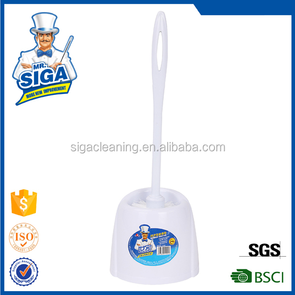 Mr. SIGA 2016 new style toilet brush plastic with tray