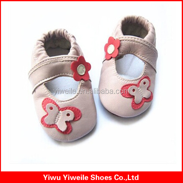 Glory 2014 china classic cow leather enamel baby shoe charms