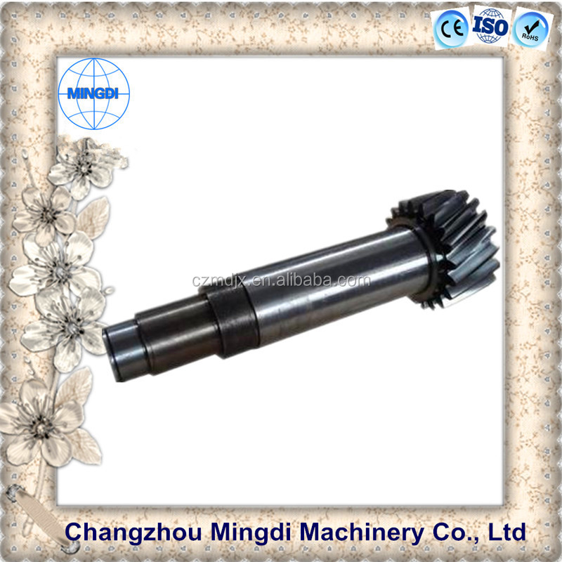 China Produced Machinery tapered transmission coupling parts spare part drive shaft spline shaft coupling