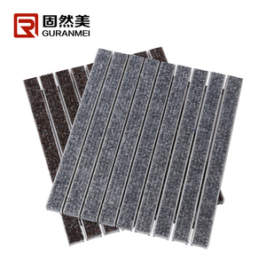 Aluminum entrance Heavy Duty matting with carpet imported from Belgium