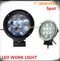 60 W Cr ee led work lamp led car accessories driving light
